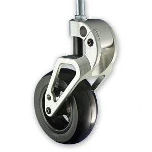 Big-Rig Front Caster (Silver)