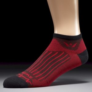 Swiftwick® Pulse ZERO - Black/Red