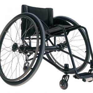 Zephyr Ultra Light Wheelchair by Colours® - Black