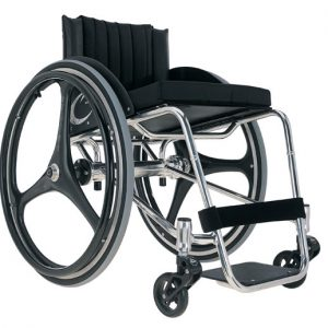 Zephyr Ultra Light Wheelchair by Colours® - Crome