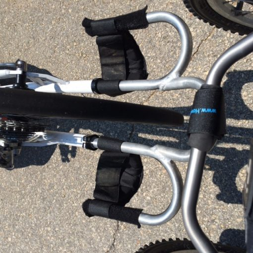 Multi-Strap Attached to Wheelchair/Hand-Cycle