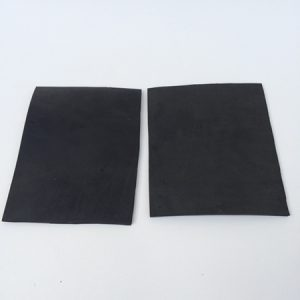 "2 Rubber Sheets (4"" x 5"")"