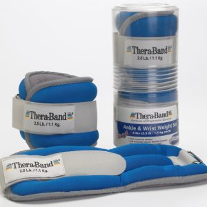 Blue Ankle/Wrist Weights:  5 LB