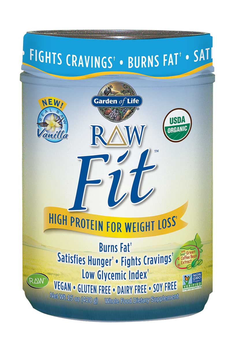 Garden Of Life Raw Fit High Protein For Weight Loss Vanilla 15 Oz How Iroll Sports