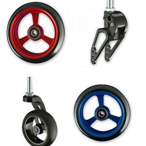 Front Caster Wheels & Forks