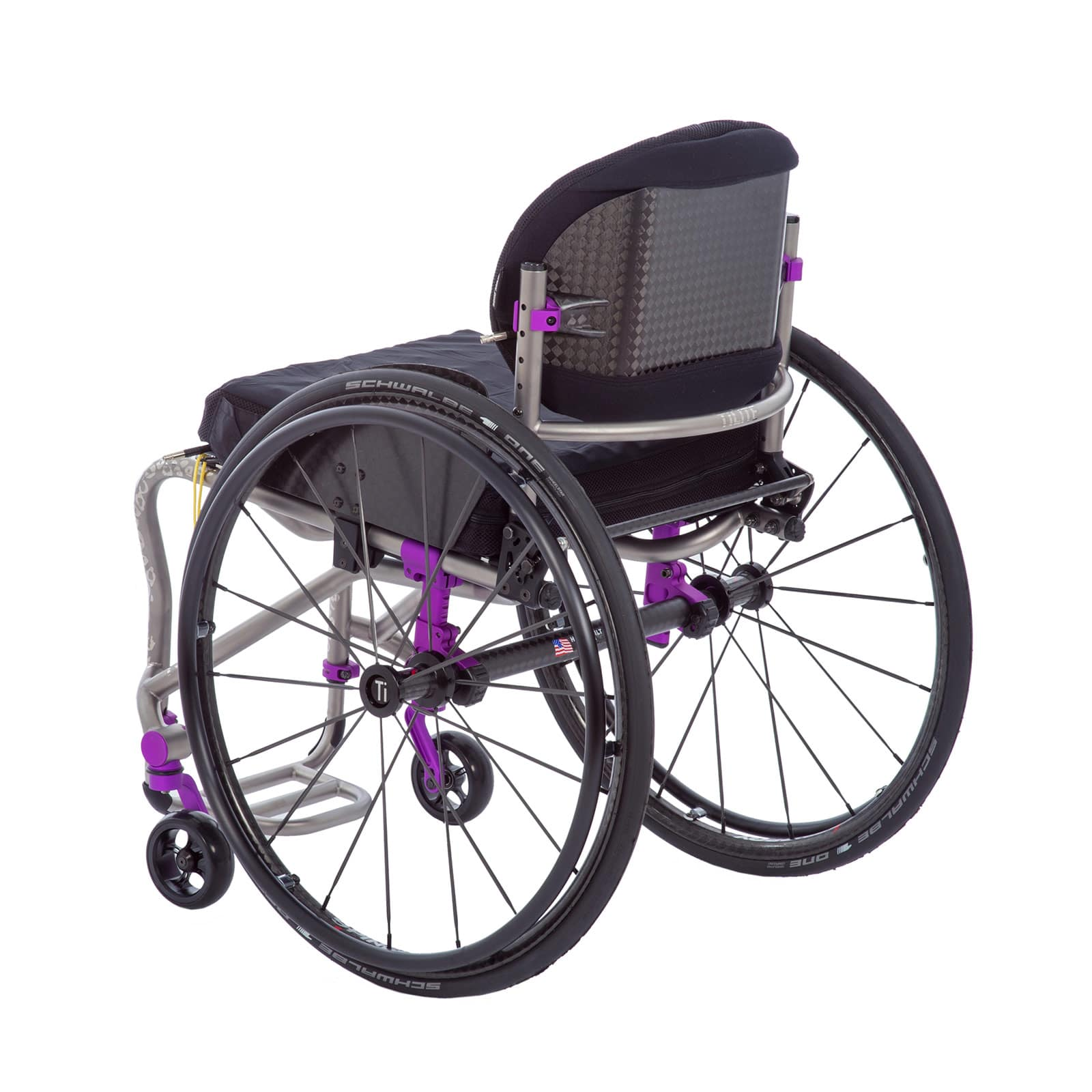 TiLite TRA Rigid Titanium Wheelchair FREE SHIPPING How iRoll Sports